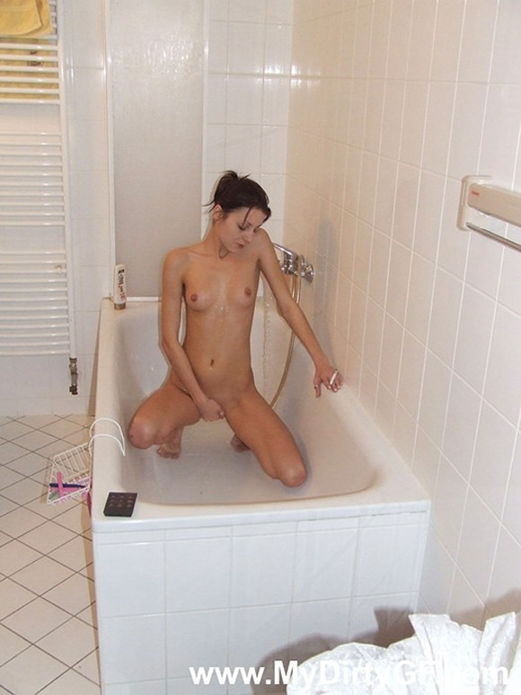 playful-girlfriend-splashes-water-all-over-her-boyfriends-cock